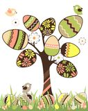 Easter tree Royalty Free Stock Image