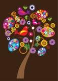 Easter tree vector illustration