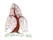 easter tree Arkivfoton