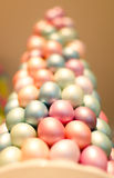 Easter tree. Closeup of a colorful easter tree stock illustration