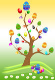 easter tree Royaltyfri Bild