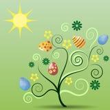 Easter_tree Royalty Free Stock Photos