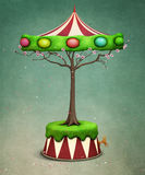 Easter tree carousel Royalty Free Stock Image