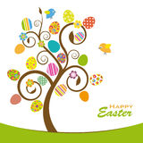 Easter tree Stock Photography