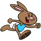 Easter Trot Royalty Free Stock Photography