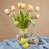 Easter Tulips Royalty Free Stock Image