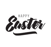 Easter typography design. Stock Images