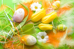 Easter variation V. Stock Images