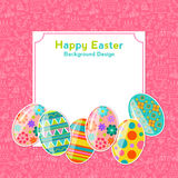 Easter vector background Royalty Free Stock Photo