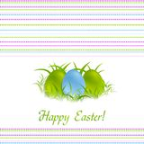 Easter vector design Royalty Free Stock Image