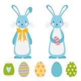 Easter elements stock illustration