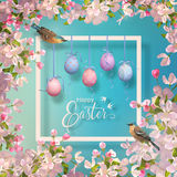 Easter Vector Frame Royalty Free Stock Photography