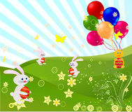 Easter vector illustration Stock Photography