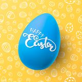 Easter vector illustration with egg Royalty Free Stock Photos