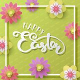 Easter vector illustration with egg Royalty Free Stock Photography