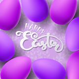Easter vector illustration with egg Royalty Free Stock Image