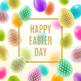 Easter vector illustration Royalty Free Stock Photo