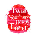 Easter vector logo design template. egg or Stock Photography