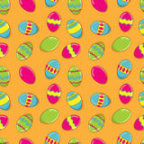 Easter vector seamless pattern Royalty Free Stock Image