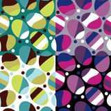 Easter vector seamless. Pattern set Stock Images