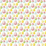 Easter vector cartoon seamless pattern background holiday decoration spring celebration traditional greeting symbols. Stock Photography