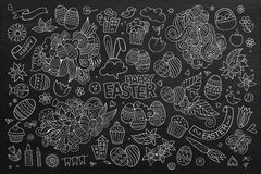 Easter vector symbols and objects Stock Photo