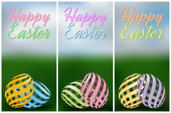 Easter vertical banners Royalty Free Stock Photo