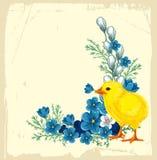 Easter vintage background Stock Photo