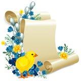 Easter vintage background Stock Image