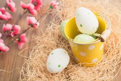 Easter vintage decoration Stock Photo