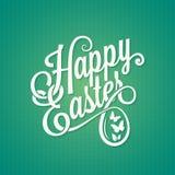 Easter vintage sign background Stock Images