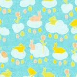 Easter wallpaper-2 Imagem de Stock Royalty Free