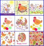 Easter wallpaper and greeting cards Royalty Free Stock Photos