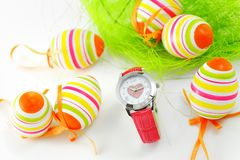 Easter watch Stock Photos
