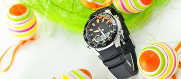Easter watch Stock Images