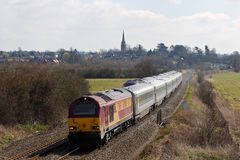 Easter weekend express train Royalty Free Stock Photos