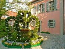 Easter Well. Gunzenhausen, Bayern, Germany Stock Image