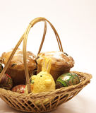Easter wicker Stock Images