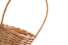 Easter wicker basket detail Stock Photography