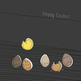 Easter wishes Royalty Free Stock Image