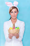 Easter woman Royalty Free Stock Photo
