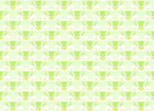 Easter wrapping paper design with bunnies and eggs Royalty Free Stock Image