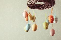 The Easter wreath Stock Photography