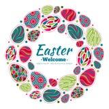 Easter wreath Stock Photos