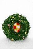 Easter wreath and egg Royalty Free Stock Photography