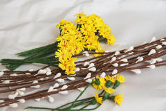 Easter wreath Stock Photo