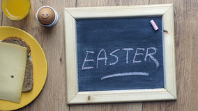 Easter written Royalty Free Stock Images