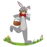 Easterbunny ilustración del vector