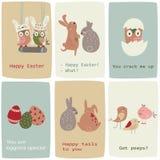 Eastercards ilustração do vetor