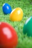 Eastereggs colorés Image libre de droits
